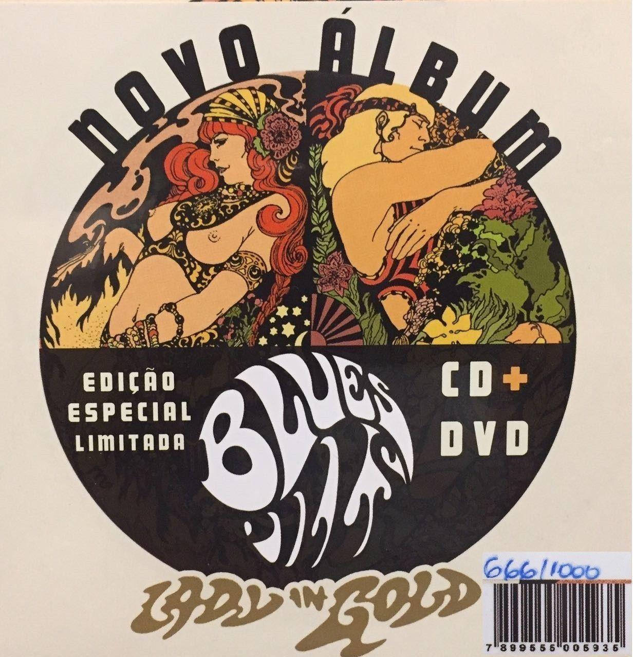 CD+DVD - Blues Pills - Lady Gold