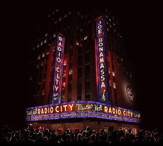 CD+DVD - Joe Bonamassa - Live At Radio City Music Hall