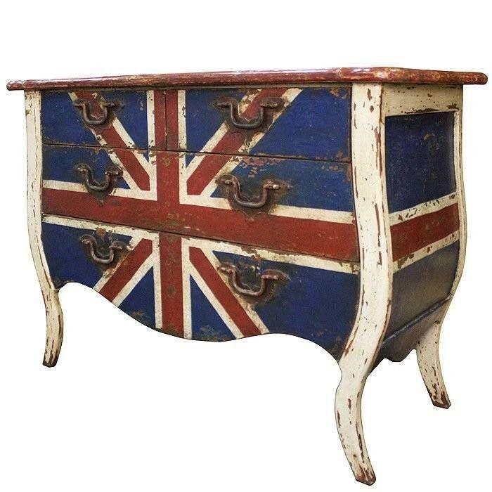 Cômoda Union Jack – Rvalentim