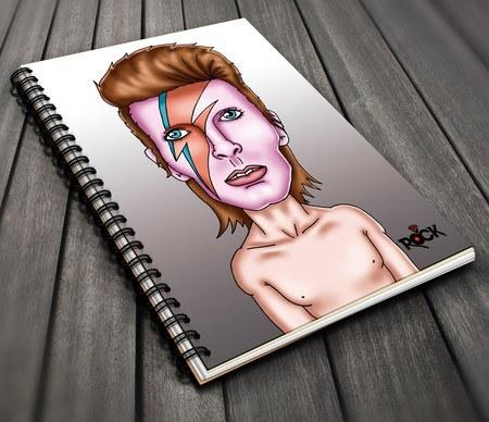David Bowie - Caderno Exclusivo