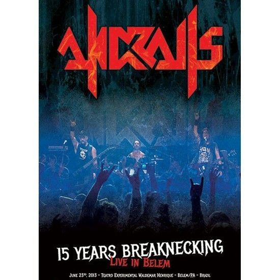 DVD – Andralls – 15 Years Breaknecking – Live In Belem