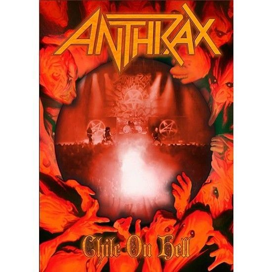 DVD – Anthrax – Chile On Hell