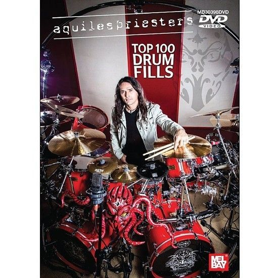 DVD – Aquiles Priester – Top 100 Drums Fills