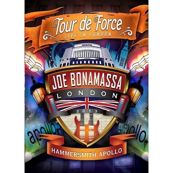 DVD – Joe Bonamassa – Tour de Force – Hammersmith Apollo