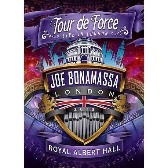 DVD – Joe Bonamassa – Tour de Force – Royal Albert Hall