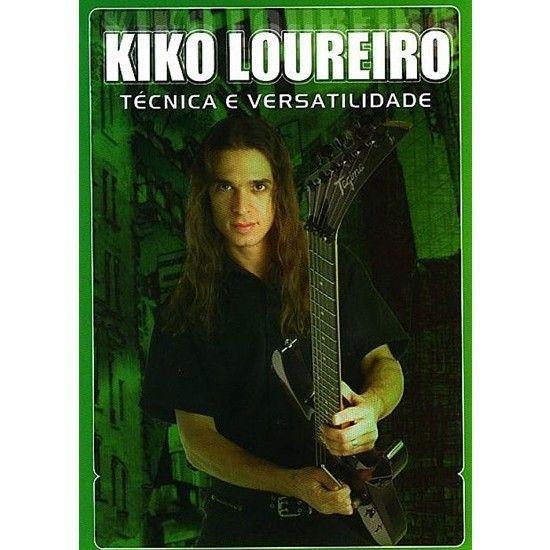 DVD – Kiko Loureiro – Técnica e Versatilidade