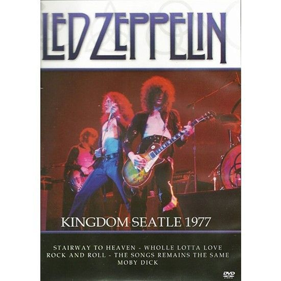DVD – Led Zeppelin – Kingdom Seattle 1977