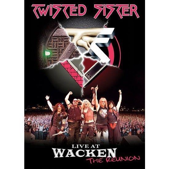 DVD – Twisted Sister – Live At Wacken: The Reunion