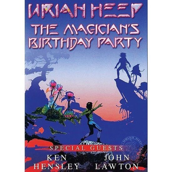 DVD – Uriah Heep – The Magicians Birthday Party