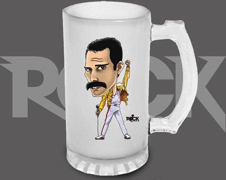 Canecão de Chopp Freddie Mercury – Mitos do Rock