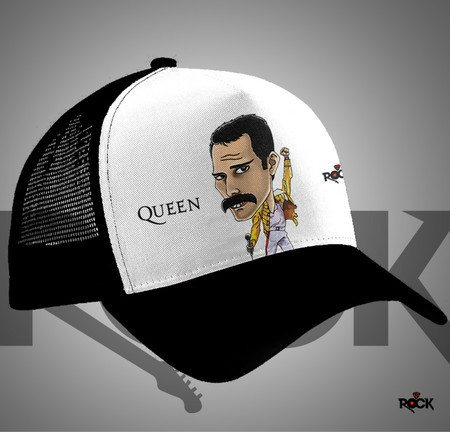 Boné Trucker Freddie Mercury Queen – Mitos do Rock