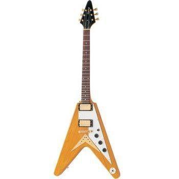 Guitarra Epiphone Flying V58 Korina Gold