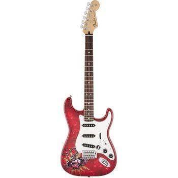 Guitarra Fender Standard Stratocaster David Lozeau ART  014-1002