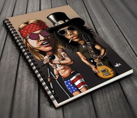 Guns n Roses - Caderno Exclusivo