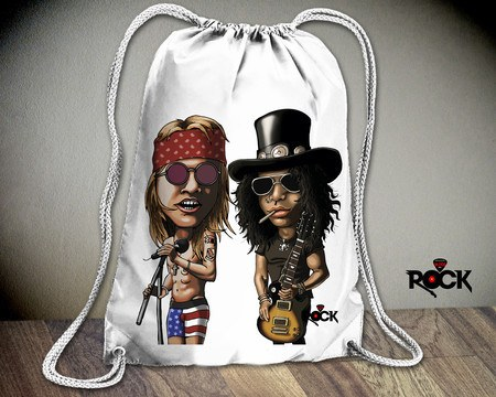 Mochila Saco Guns n Roses – Mitos do Rock