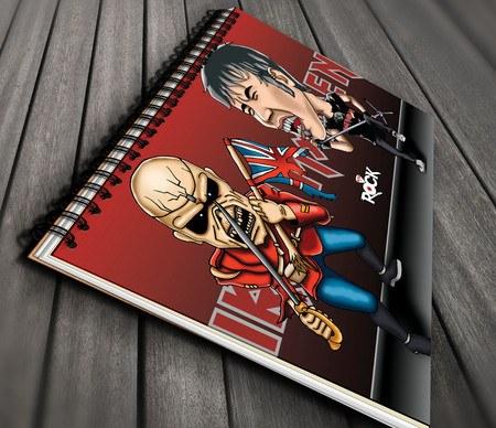 Iron Maiden - Caderno Exclusivo