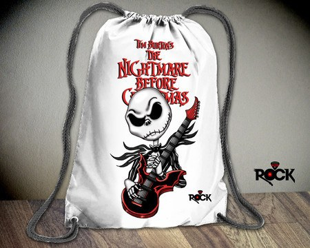 Mochila Saco Jack Skellington – Mitos do Rock