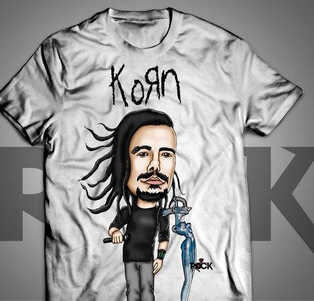 Korn - Camiseta Exclusiva