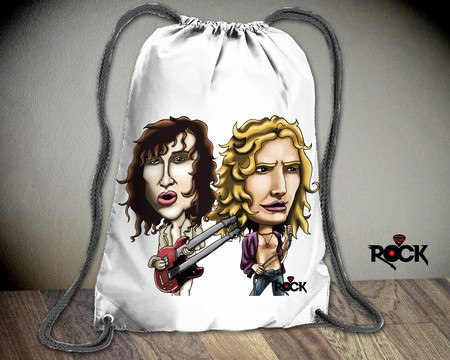 Mochila Saco Led Zeppelin – Mitos do Rock