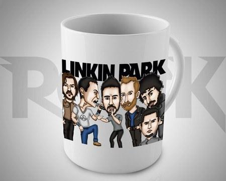 Caneca Exclusiva Linkin Park – Mitos do Rock