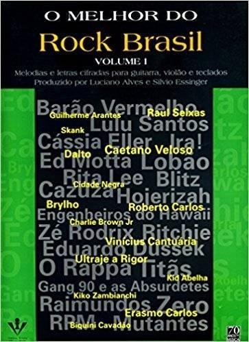Livro - O Melhor do Rock Brasil - VOL. I