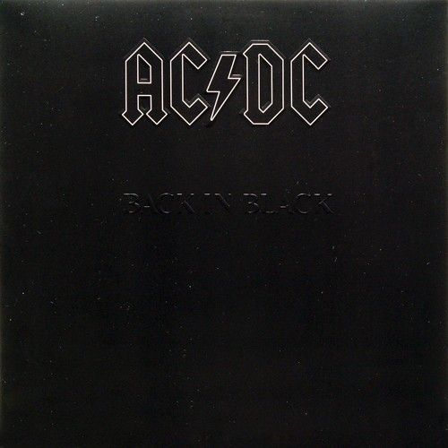 LP – AC/DC ‎– Back In Black ( LP Importado Americano )