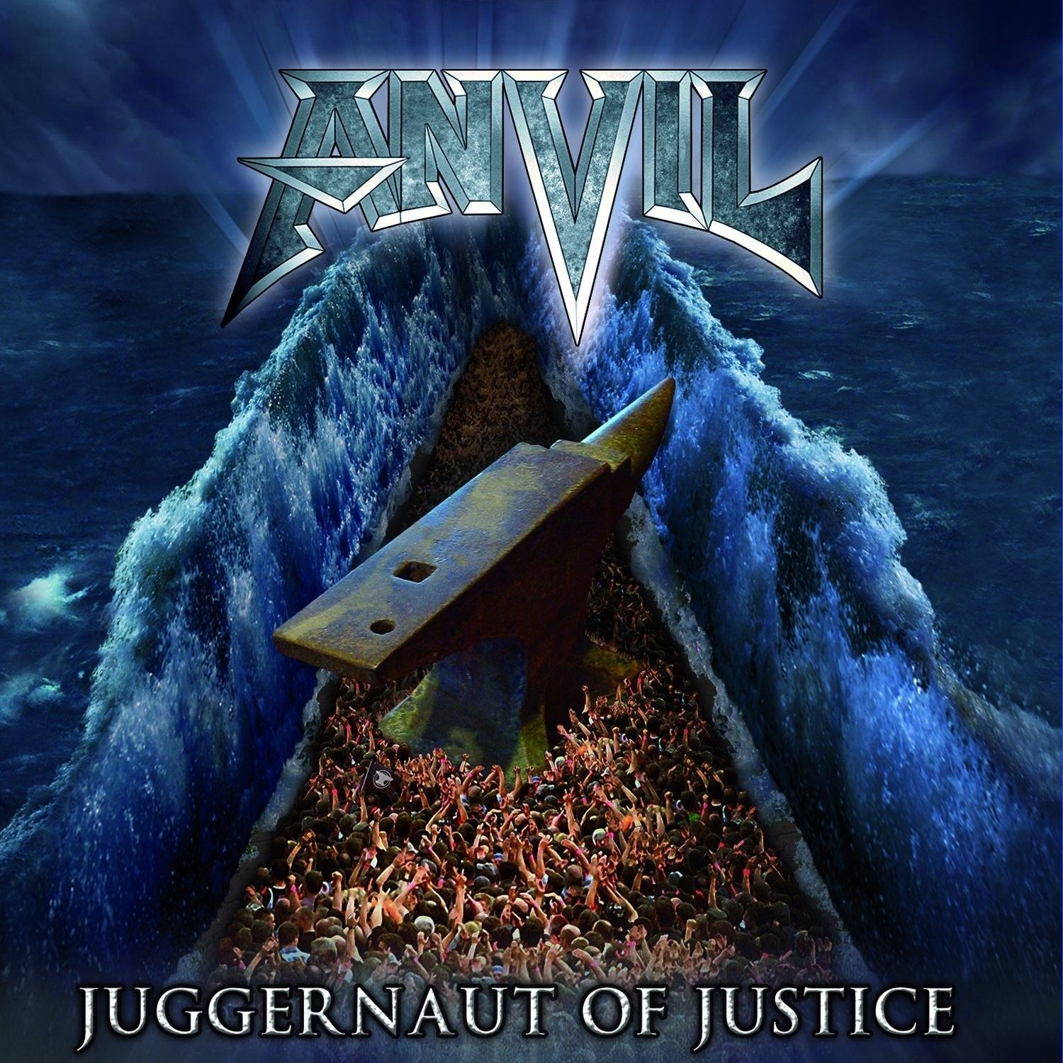 "LP – Anvil – Juggernaut of Justice ( LP Duplo Importado Europeu ""Azul"" )"