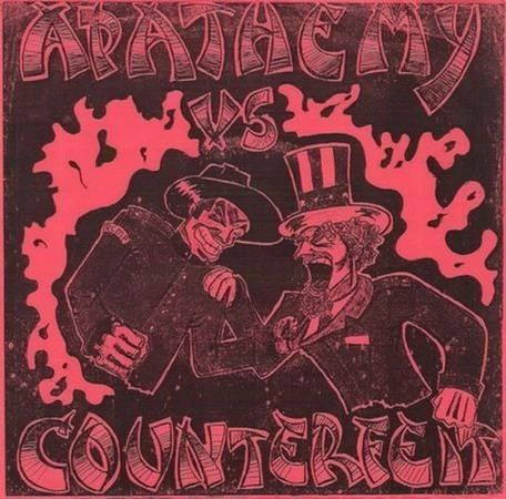 LP – Apathemy Vs Counterfeit ( Compacto 7″ Importado )