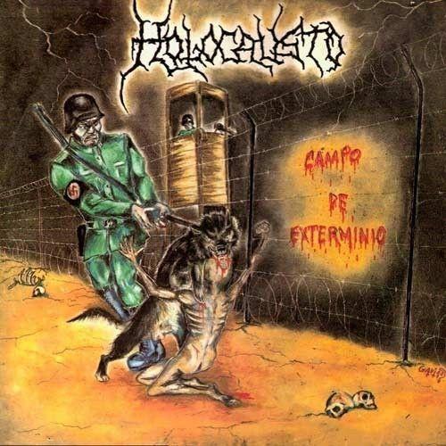 LP – Holocausto – Campo de Extermínio ( LP Green Vinyl Importado )