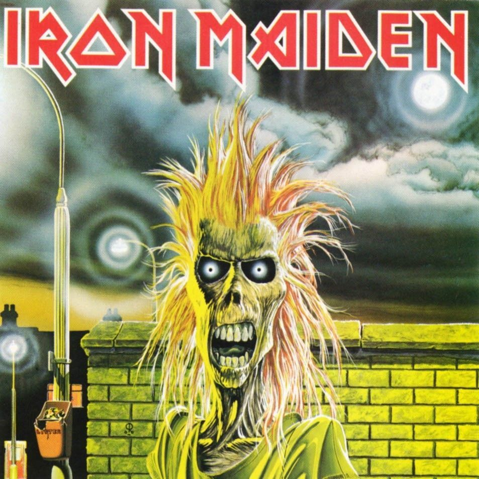 LP – Iron Maiden – Iron Maiden ( LP Importado Americano )