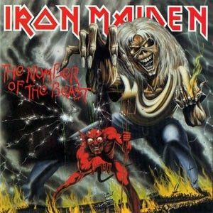 LP – Iron Maiden – The Number Of The Beast ( LP Importado )