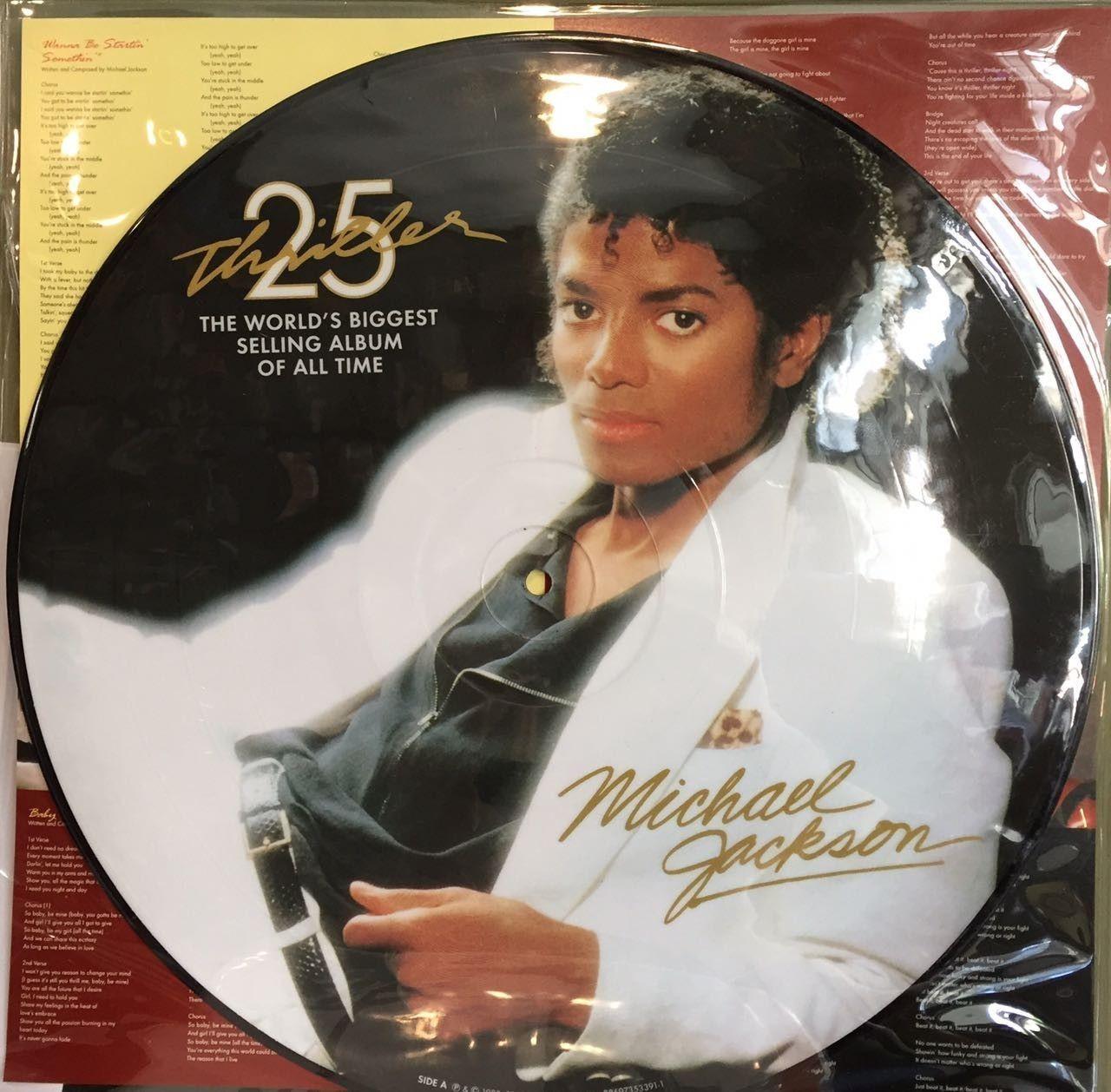LP – Michael Jackson – Thriller Edição Aniversário de 25 Anos ( LP Picure Importado USA )