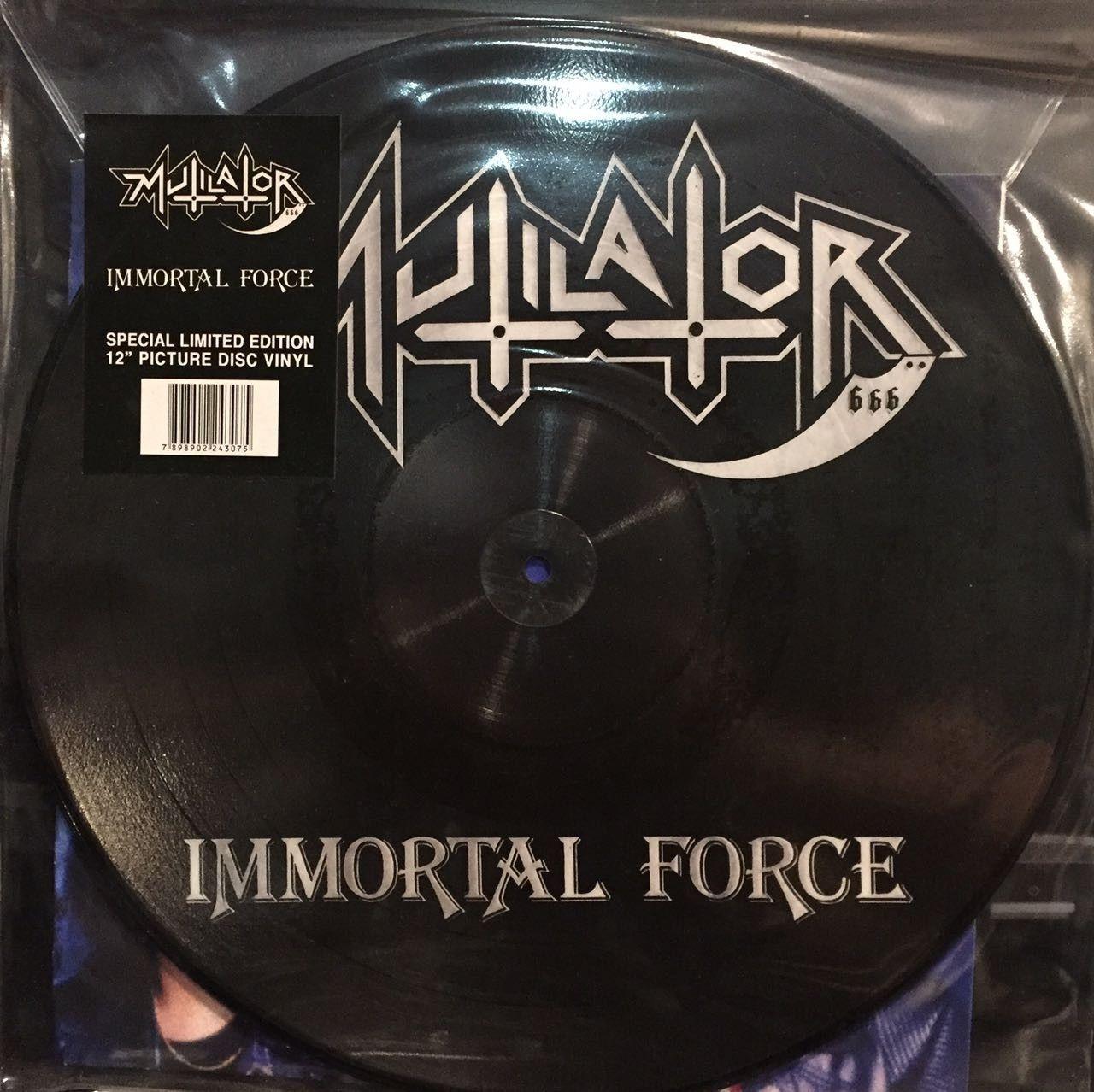 LP – Mutilator – Immortal Force ( LP Picture Importado )