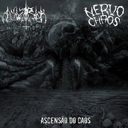 LP – NervoChaos / Amazarak – Ascensão do Caos ( Split Vinil 10″ Importado )