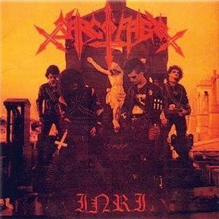 LP – Sarcófago – I.N.R.I ( LP Importado )