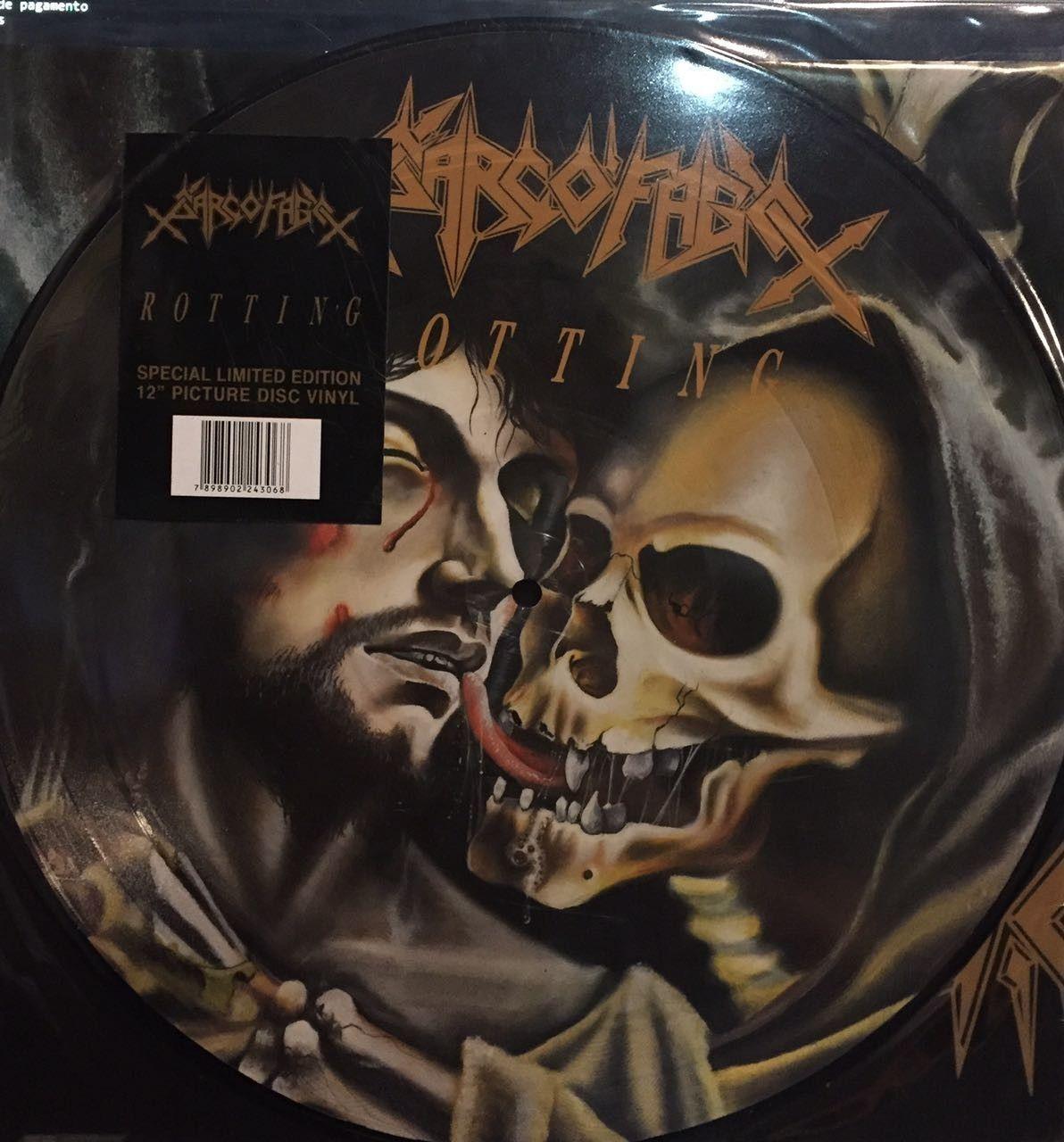 LP – Sarcófago – Rotting ( LP Importado )