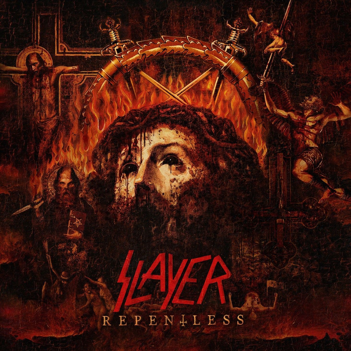 LP – Slayer – Repentless ( LP Importado USA Marmorizado )