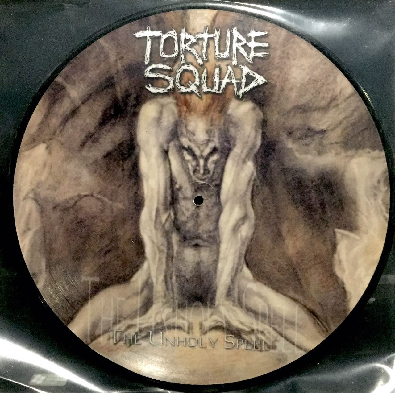 LP – Torture Squad ‎– The Unholy Spell ( LP Picture Importado )