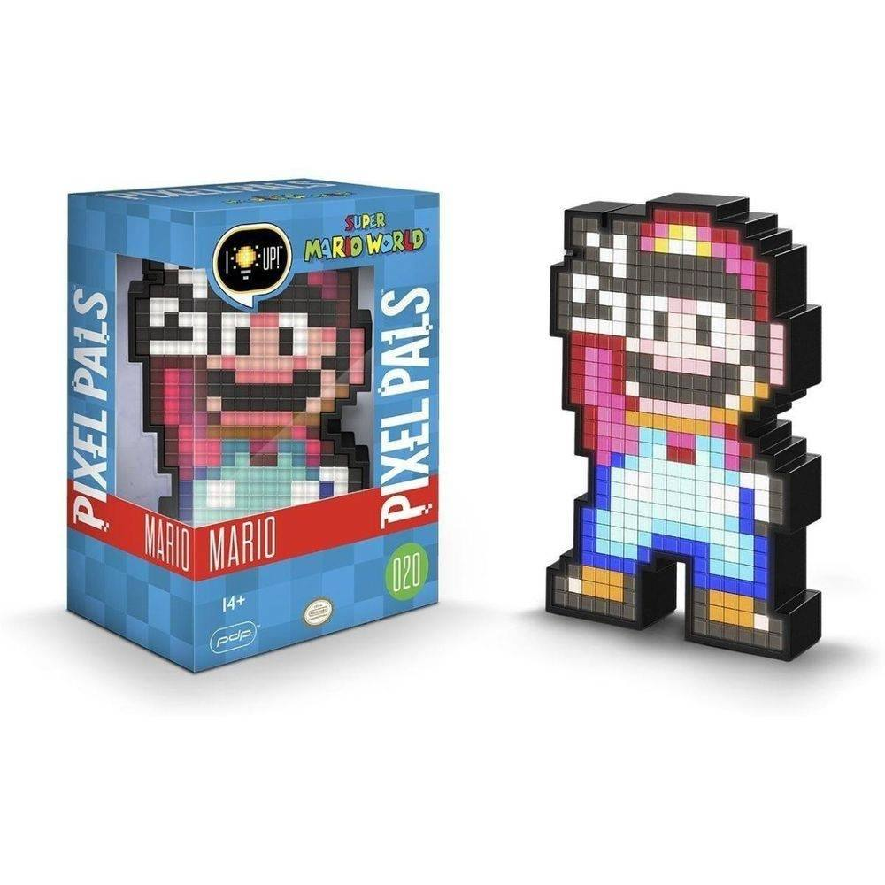 Luminária - Mario Pixel Pals - SuperMario 3