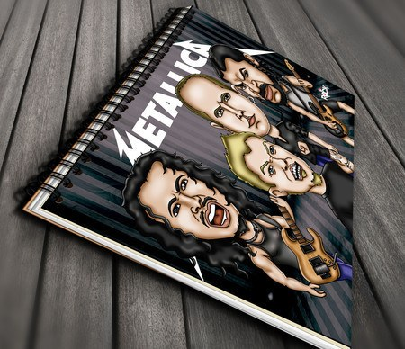Metallica - Caderno Exclusivo