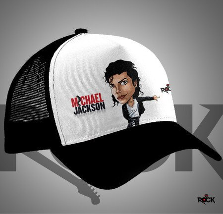 Boné Trucker Michael Jackson – Mitos do Rock