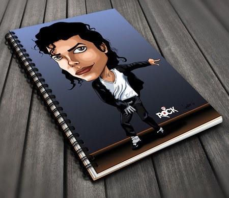 Michael Jackson - Caderno Exclusivo