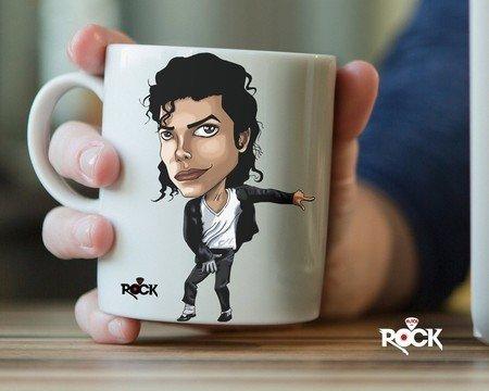 Caneca Exclusiva Michael Jackson – Mitos do Rock
