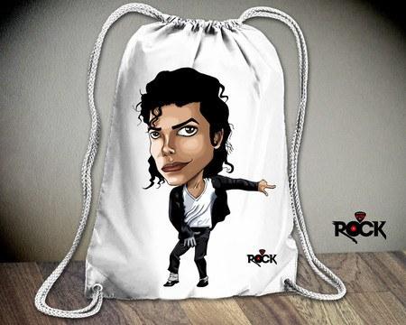 Mochila Saco Michael Jackson – Mitos do Rock