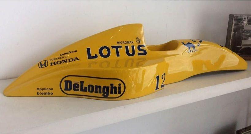 Miniatura F1 Lotus Amarela – Rvalentim