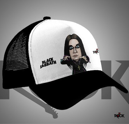 Boné Trucker Ozzy Osbourne – Mitos do Rock