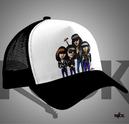 Boné Trucker Ramones – Mitos do Rock