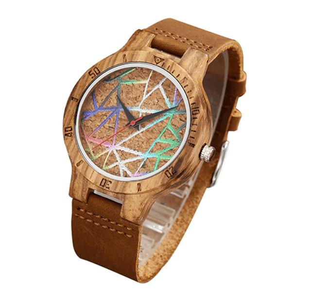 Relógio de Madeira - Geometria Fun