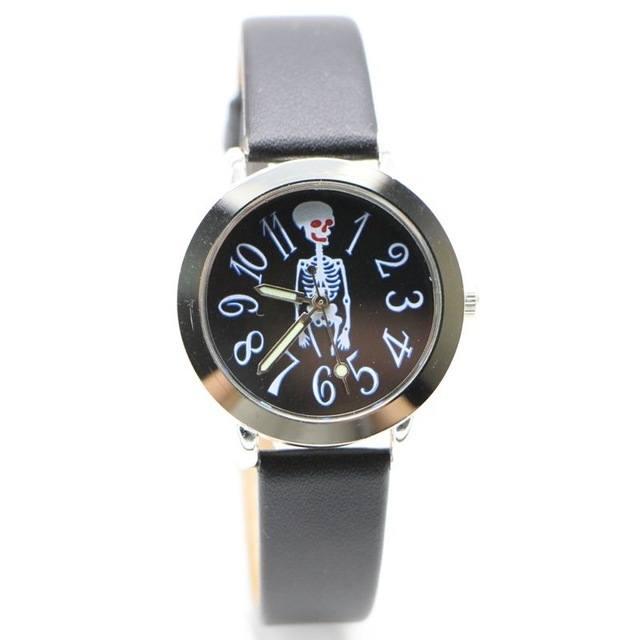 Relógio Esqueleto - Preto