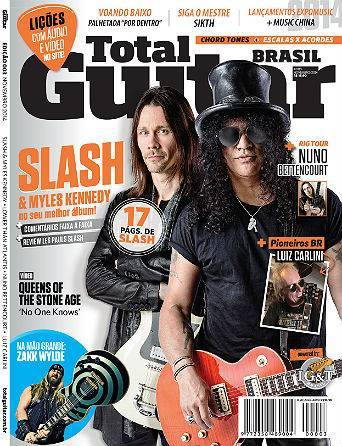 Revista Total Guitar Brasil #03 - Exclusivo Slash